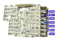 ZF6HP26 M SHIFT VALVE BODY SOLENOID CHART